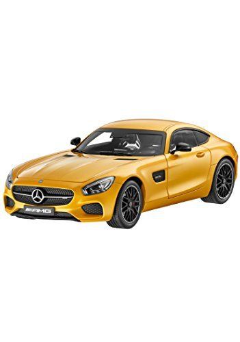 Mercedes Benz AMG GT S Solarbeam Yellow Model Car 1:18 Scale