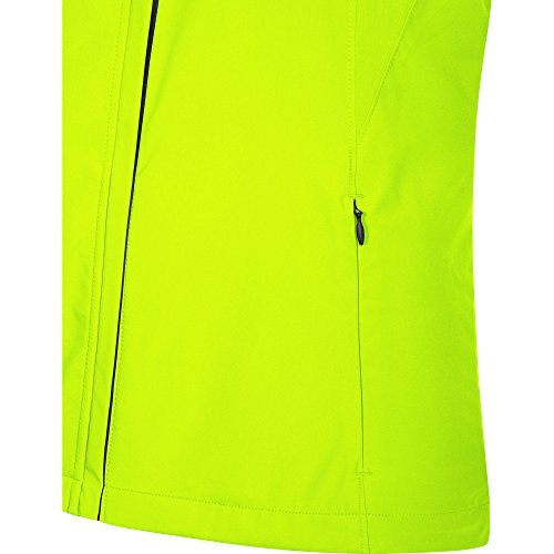 GORE WEAR Women's R3 Partial Windstopper Jacket, Neon Yellow, Small by GORE WEAR (Image #5)