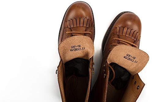 Invierno Vintage Botas Estilo Brown Borla color Casual Otoño eu Xzp Corte Cuero Tobillo De Size Genuino 44 Alto Moda Brown Hombre Para qxIdwnnX0