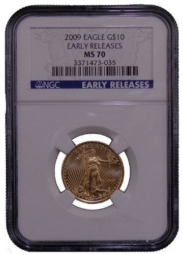 2009 American Gold Eagle Early Release Ten Dollar NGC MS-70