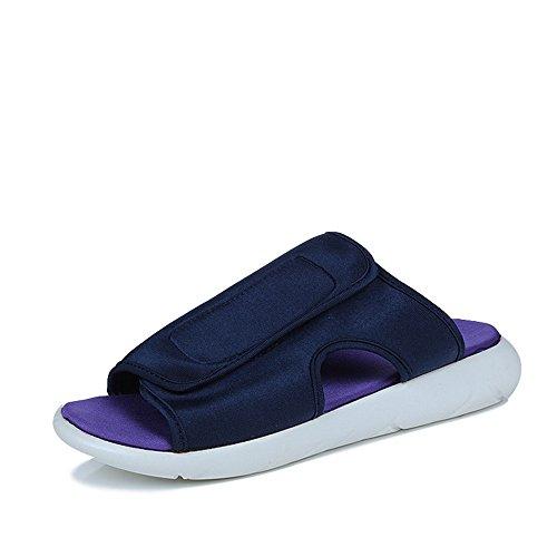 27 24 Scarpe estivi da 5 Sandali Melodycp 5 uomo Slipper Pantofole Magic pelle Blu in cm in tessuto uomoCasual estivo Stick da uomo da t6wxz7wq
