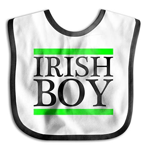 Ireland Irish Boy Baby Drool Bibs Baby Skin Wrap Bib Soft Unisex