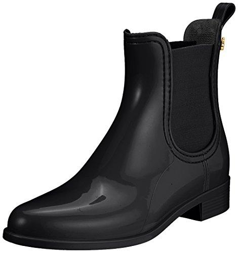 Gelatina Al Limone Damen Comfy Chelsea Boots Schwarz (nero)