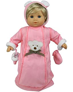 amazon com 15 doll clothes for american girl bitty baby bitty