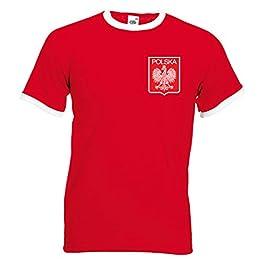 Maillot de football pour homme Lewandowski Pologne