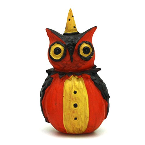 Halloween Pumpkin Peeps Figurines (Owl)