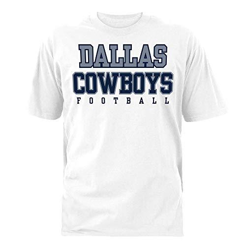 - Dallas Cowboys NFL Mens Practice T-Shirt, White, Large