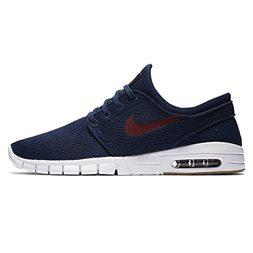 Nike Stefan Janoski Air Max Sneakers Binary Blue/ Team Red Mens 10