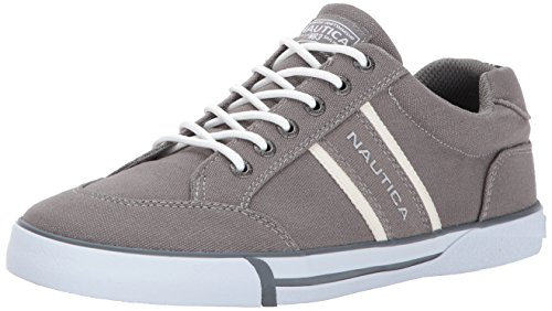Nautica Men's Hull Canvas Fashion Sneaker