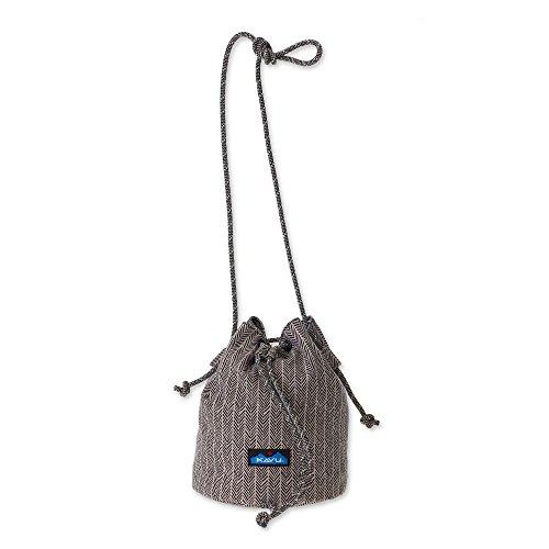 KAVU Women's Bucket Bag Outdoor Backpacks, One Size, Chevron Shower