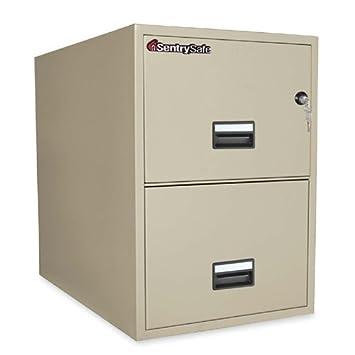 Sentry Safe Vertical Fire File Cabinet