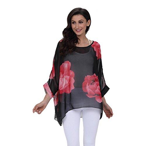 Bekleidung SANFASHION A Donna SANFASHION Damen Shirt155 Ballerine dSxTpqSr