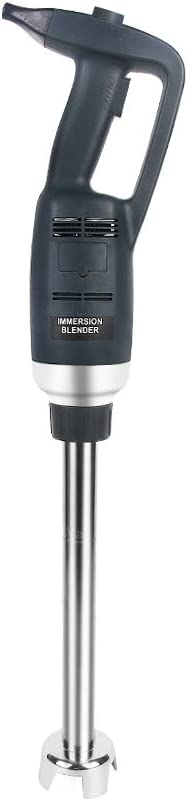 500W Handheld Blender Commercial Kitchen Electric Food Processor Variable Fixed Speed Immersion Blender Mixer (20cm)