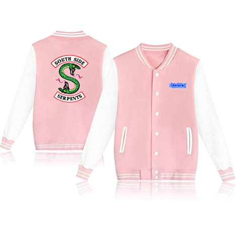 Giacca South Lover Fans Capispalla Plus Jacket Side Fashon 2 Da Riverdale 4 Unisex Size Djs Colore Baseball Casual w0SUW