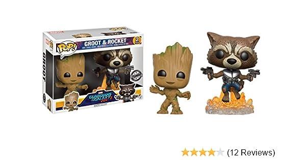 15096 FYE Exclusive Funko Pop Groot /& Rocket 2 Guardians of the Galaxy Vol