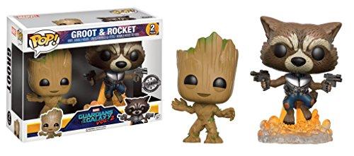 Funko Pop! Groot & Rocket - Guardians of The Galaxy Vol. 2 (FYE Exclusive) (Los Guardianes De La Galaxia Vol 2)