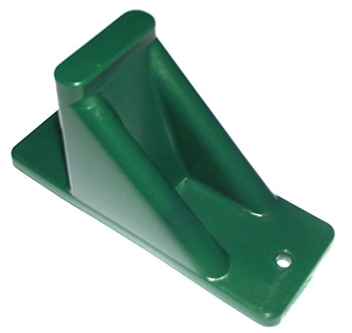 Plastic-Roof-Ice-Guard-Mini-Snow-Guard-100-PackPrevent-Sliding-Snow-Ice-Buildup-GREEN