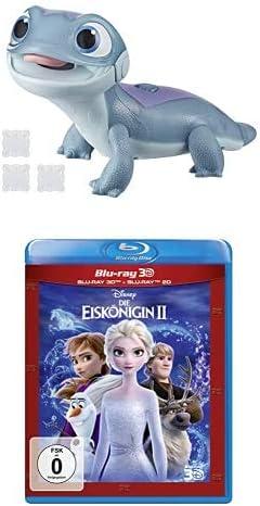 Disney Die Eiskönigin Feuergeist mit Schnee-Snack, Salamander Spielzeug mit Licht, inspiriert vom Disney Film Die Eiskönigin 2 & Die Eiskönigin 2 (3D Blu-ray)