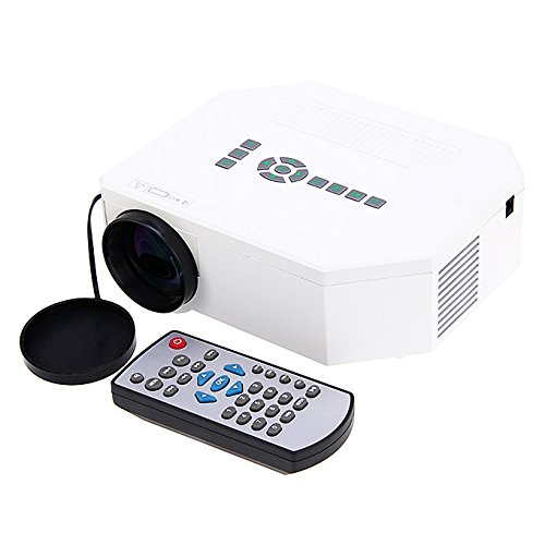 Price comparison product image UC30 1080P Portable Mini Led Projector HDMI Home Theater Projector Support HDMI VGA AV USB Digital projector for PC US Plug