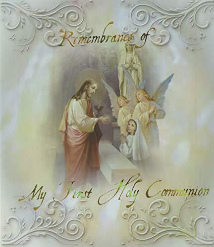 WJ Hirten 3917-679 Girl First Communion Album, Holds 50 Photos ()