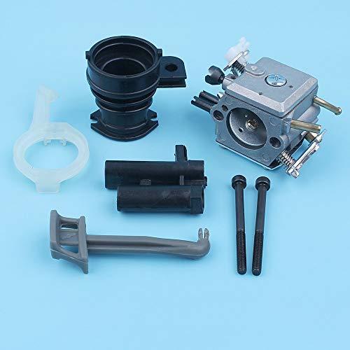 Laliva tools - Carburetor Intake Manifold Choke Rod Bolt Bracket Kit For Husqvarna 365 372XP 371 362 372 Chainsaw 503 28 32-03, 5032818-01