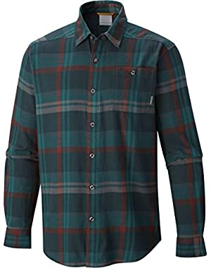 Columbia Men's Tall Cornell Woods Flannel Long Sleeve Shirt