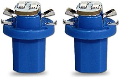 Akhan 852B - LED Lámpara Azul T5 B8.5D BAX10D 12V lámpara del ...