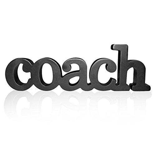 Coach Wood Word | Wood Words by ChalkTalk Sports | Coach Gift | Shelf and Desk Décor