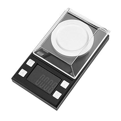TOOGOO 100g/0.001g Bascula de miligramo digital Bascula de joya de alta precision Peso