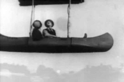 Hot Air Balloon Video - Hot Air Balloon Adventure Film: The Balloonatic (1923) - A Slapstick Comedy featuring Buster Keaton