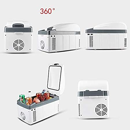 20l Piccolo congelatore per Auto per Camion e Famiglie Kievy Mini Frigorifero termoelettrico Car Cooler di Raffreddamento e Riscaldamento 24v // 12v // 220v Prese