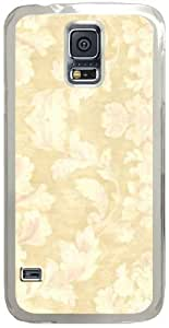 patterson-Damask Samsung Galaxy S5 Case with Transparent Skin I9600 Hard Shell Cover