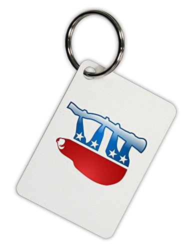 Tooloud Sloth Political Party Symbol Aluminum Keyring Tag - Tooloud