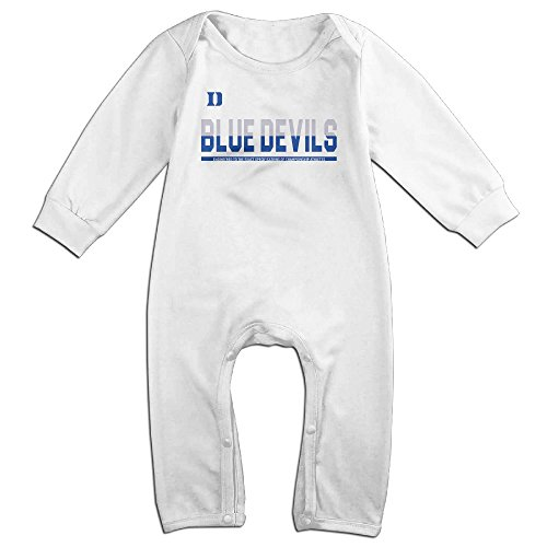 [Baby Boy Girl Duke Blue Devils 2016 Athletes Long Sleeve Outfits] (Devil Girl Outfit)