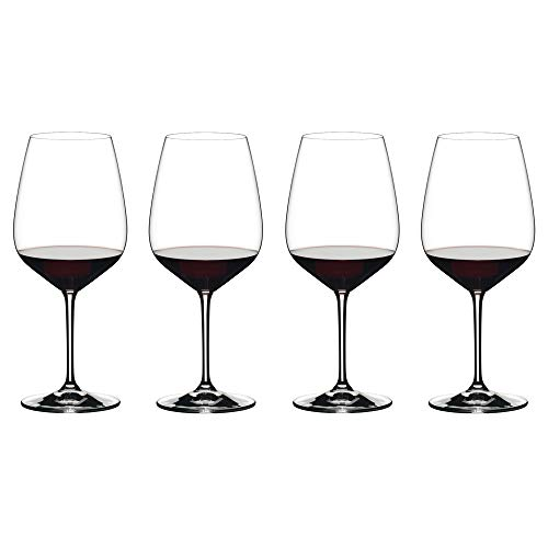 Riedel 4411/0 Extreme Cabernet Wine Glass, Set of 4, Clear