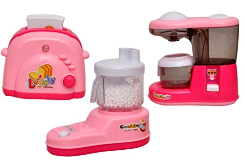 Sunshine Dream Household Kitchen Set Household Toy, Battery Operated, Assorted Set of 3
