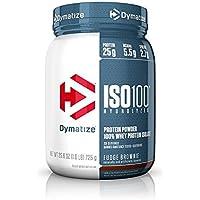 Dymatize ISO100-100% Hydrolyzed Whey Protein Isolate - Fudge Brownie - (1.6lb) 725 grams