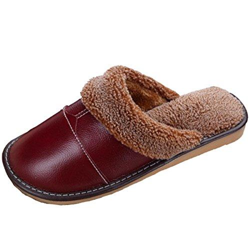 Pantofole Da Casa Morbide In Pelle Morbida Pocartz Unisex Morbide E Antiscivolo