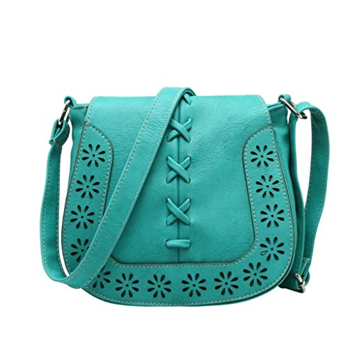 Shoulder Fashion Buns E Diagonal Hunputa Woven Hollow New Handbags Vintage qYnOpH