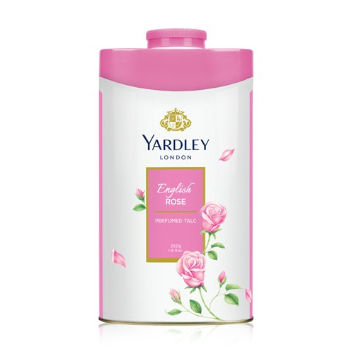 Yardley London, ENGLISH ROSE TALCUM POWDER, 100g