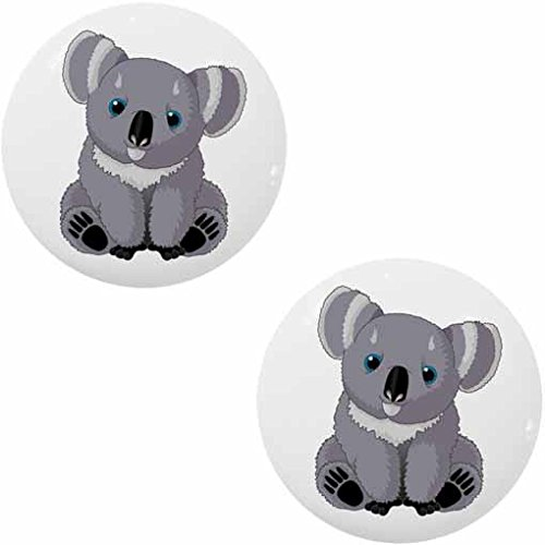 Bear Ceramic Cabinet Drawer Knob (Bear Drawer Knob)