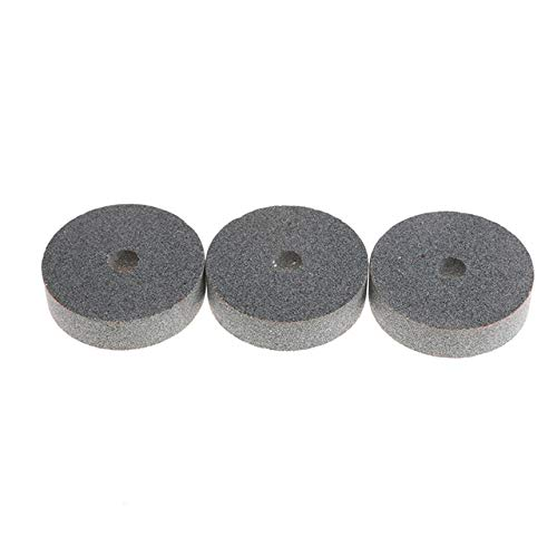 Cacys-Store - 3Pcs 3inch Grinding Wheel Polishing Pad Abrasive Disc Stone Wheel Rotary Tool For Metal Ceramic Bench Grinder Rotary Tool