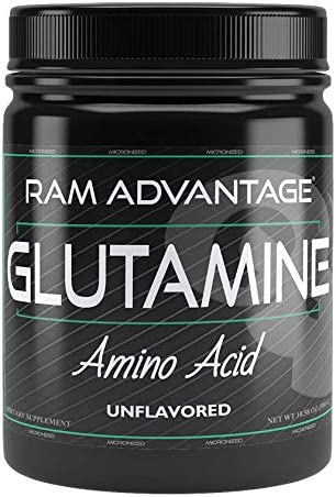 Micronized Glutamine Amino Acid Protein Synthesis, Energy, Recovery RAM ADVANTAGE 300 G