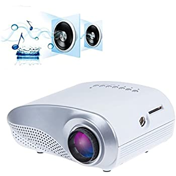 Rienar led mini projector fashionable home for Pocket sized hd projector