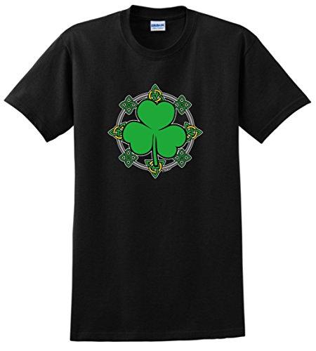 Plus Size St Patricks Day Gifts St Patricks Day Gift Celtic Knots Shamrock T-Shirt 3XL -