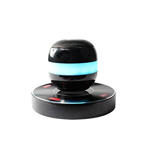 PCT Brands - Axis Floating Wireless Bluetooth levitating Maglev Speaker with Microphone