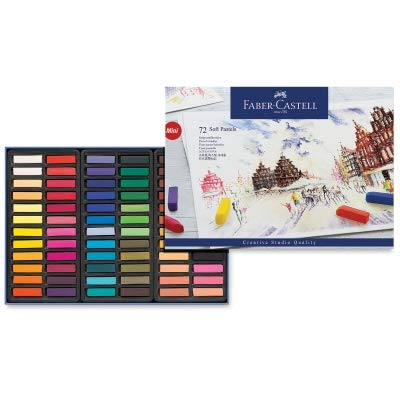 - Faber-Castel FC128272 Creative Studio Soft Pastel Crayons (72 Pack), Assorted