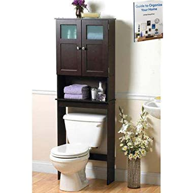 Over The Toilet Storage Cabinet,Bathroom Practical Indoor Cupboard,Home Storage Bathroom Furniture & Ebook by Easy2Find.