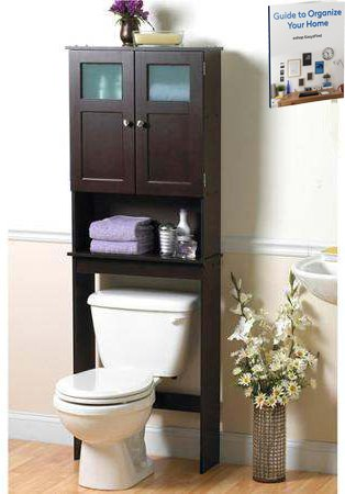 Over The Toilet Storage Cabinet Bathroom Practical Indoor Cupboard Home  Storage Bathroom Furniture. Amazon com  Over The Toilet Storage Cabinet Bathroom Practical