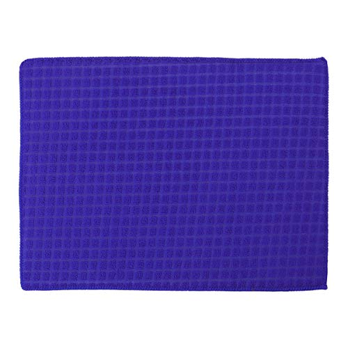 TINKSKY 38x51cm Premium Ultra Fine Microfiber Towel Cleaning Cloth for Kitchen Dirt Cleaning (Blue)